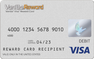 Vanilla Visa® Rewards Cards
